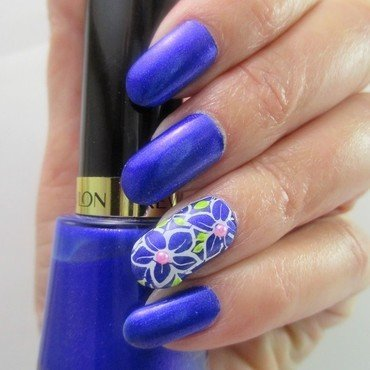 Sultry nail art by NinaB