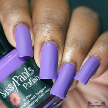 Sassy Pants Polish Pucker Up Swatch by glamorousnails23