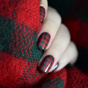 Tartan nail art bundle monster fireside 20 3  thumb370f