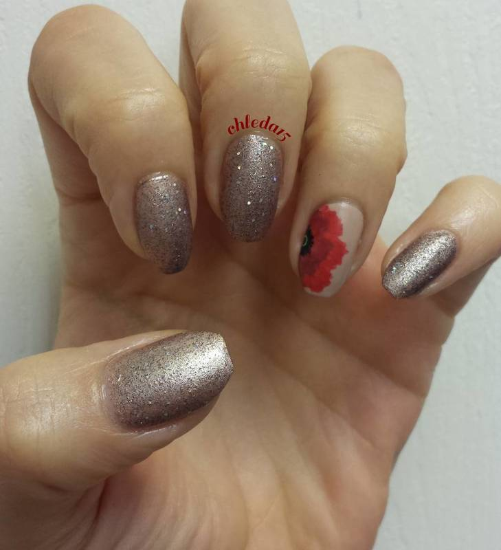 Lest We Forget nail art by chleda15