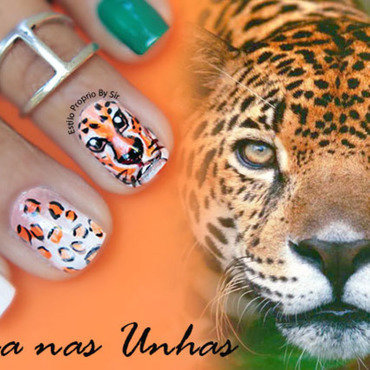nail art ounce nail art by Siça Ramos