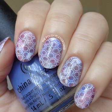 Watercolor 20hexagon 20pattern 20art 20print 20inspired 20nail 20art thumb370f