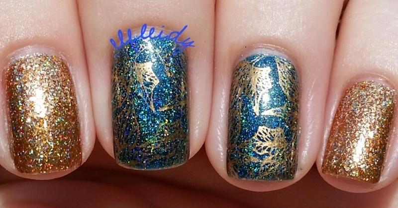 #PAAManiMonday 11-07-2016 nail art by Jenette Maitland-Tomblin