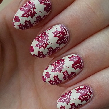 Last Chance For An Autumn Manicure? nail art by Mgielka M