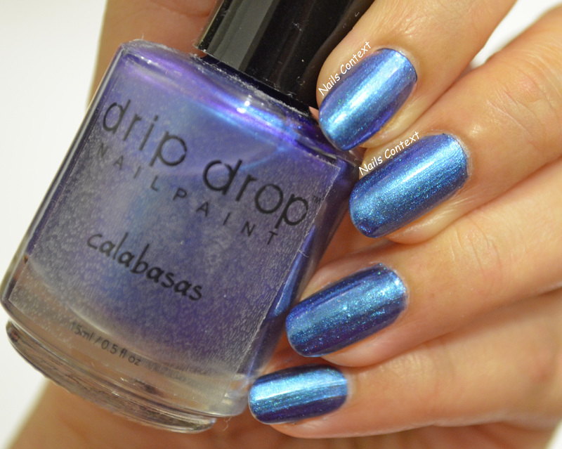 Drip Drop Calabasas Swatch by NailsContext