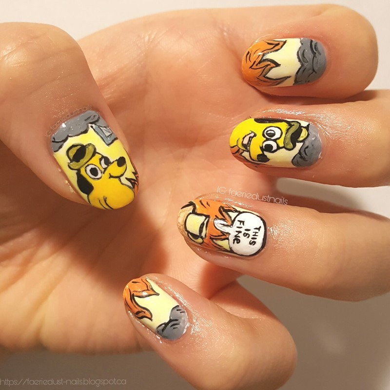 This is fine.  nail art by Shirley X.