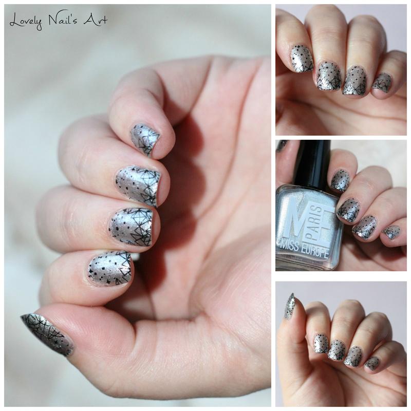 Nail art stamping moyou enchanted  nail art by Lovely Nail's  Art