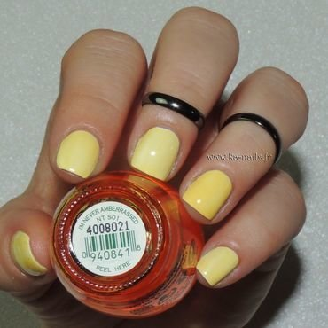 O.P.I. I'm never Amberrassed NT S01 Swatch by Ka'Nails
