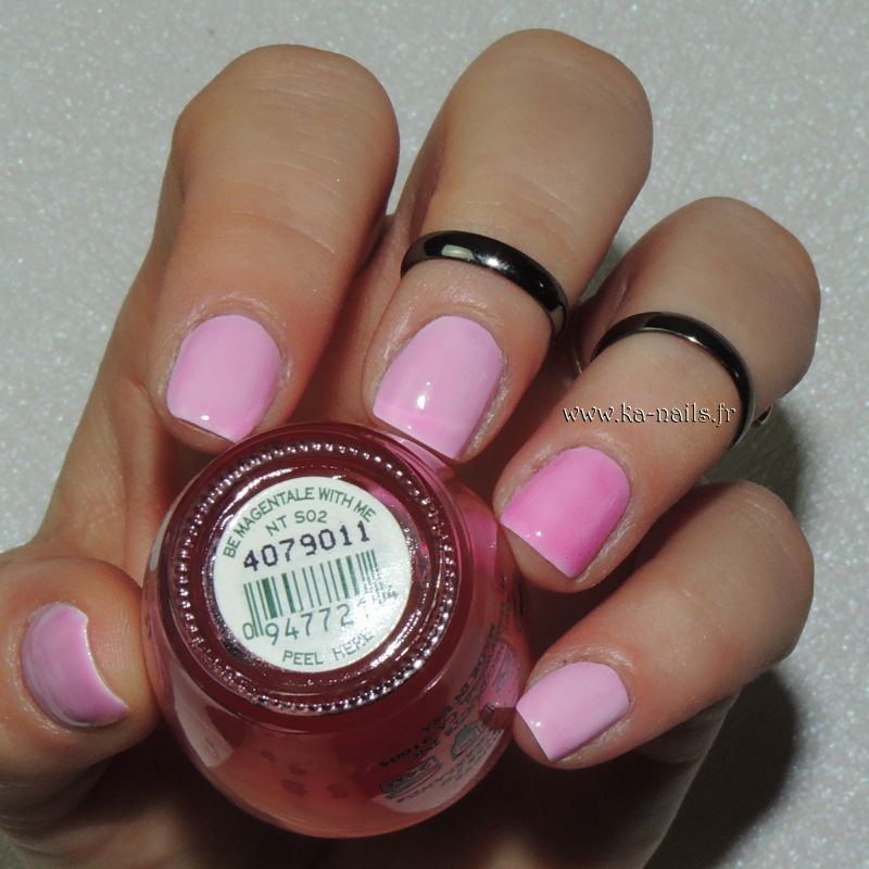 O.P.I. Be Magentale with Me NT S02 Swatch by Ka'Nails