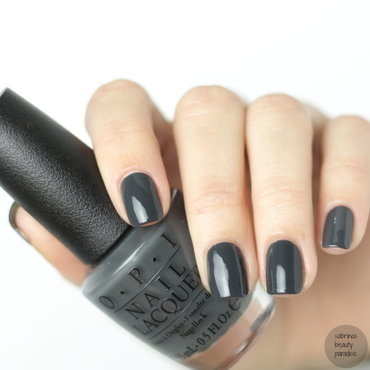 OPI Liv' in the Gray Swatch by Sabrina