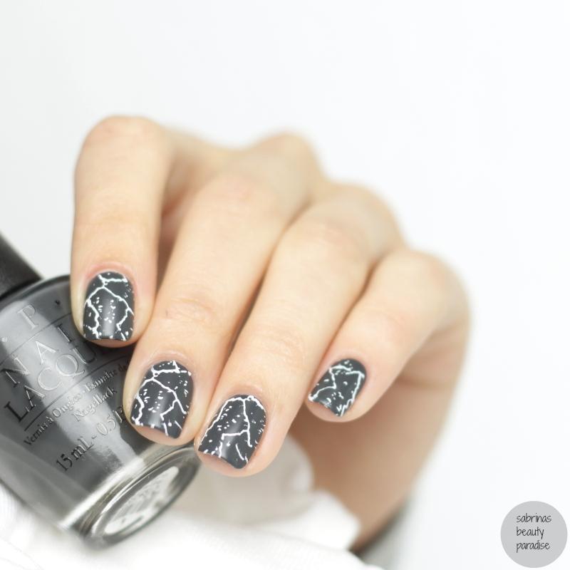 Stone Marble Stamping Nails (matte) nail art by Sabrina - Nailpolis ...