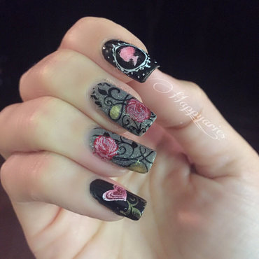 Gothic 20inspired 20nail 20art thumb370f