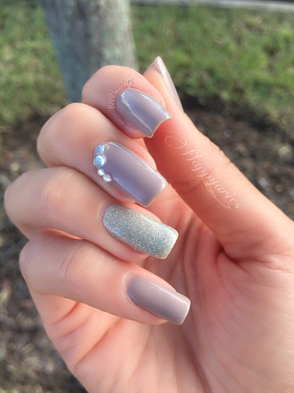 Simple and elegant nail art by happyaries nailpolis museum of simple and elegant nail art by happyaries prinsesfo Images