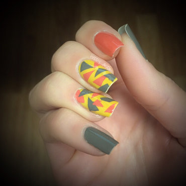 Geometric 20fall 20color 20nail 20art thumb370f
