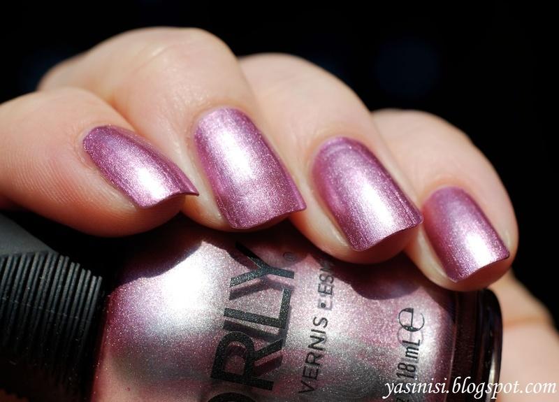 Orly Rose Radiance Swatch by Yasinisi