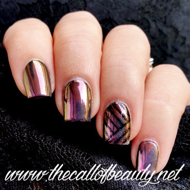 Chrome Nails nail art by The Call of Beauty