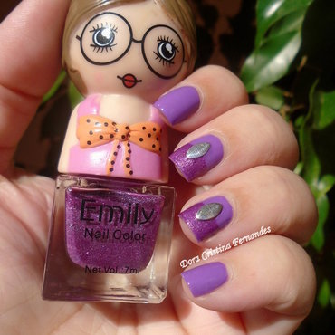 Cute Doll nail art by Dora Cristina Fernandes