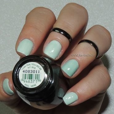 O.P.I. I Can Teal you Like me NT S04 Swatch by Ka'Nails