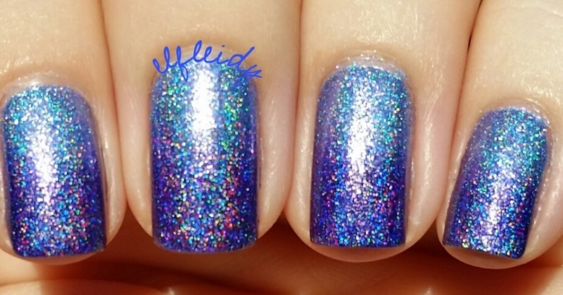 Yet another holos gradient nail art by Jenette Maitland-Tomblin