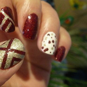 X file nail art by Barbouilleuse