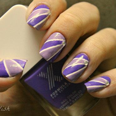 Under the Spotlight nail art by Kay's Polish