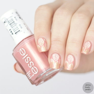 Essie - Soft Gradient Stamping nail art by Sabrina