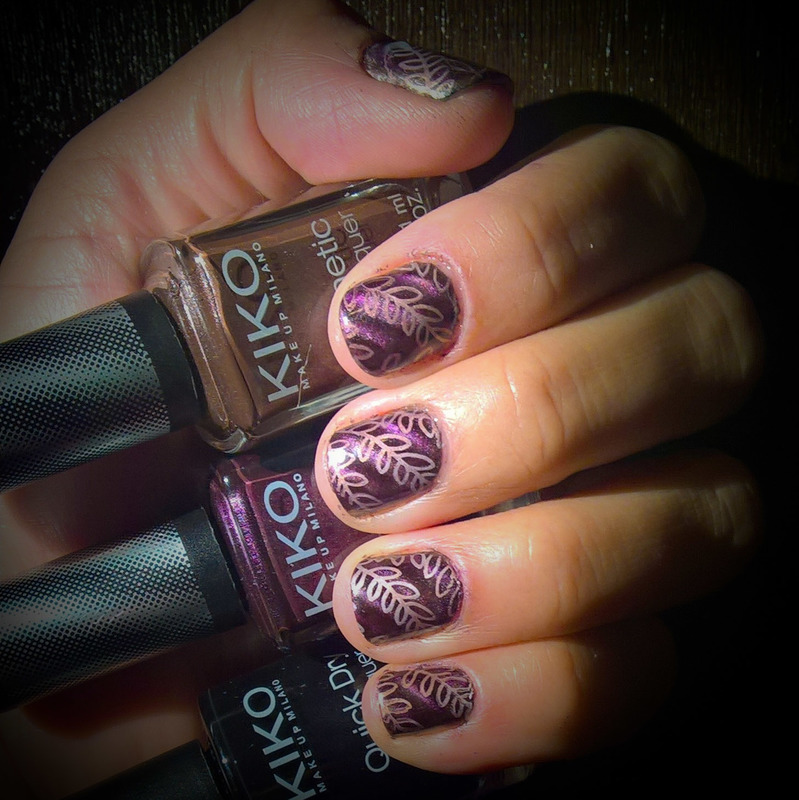 Magnetic Harvest  nail art by Avesur Europa