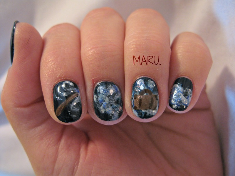 Fantastic Beasts And Where To Find Them Nail Art By Martina