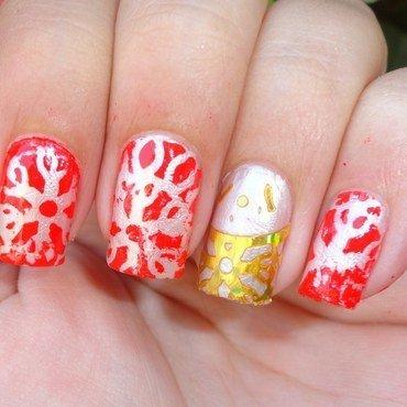 Christmas Nails nail art by Leneha Junsu