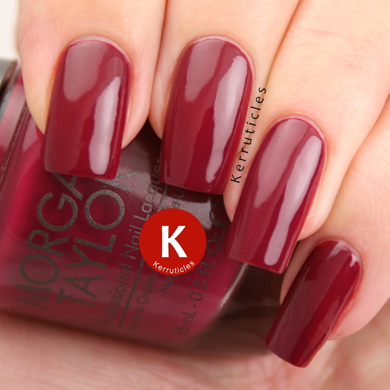 Morgan Taylor Looking For A Wingman Swatch by Claire Kerr