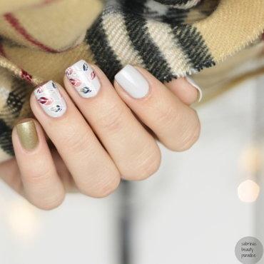 Autumn Stamping Nailart nail art by Sabrina
