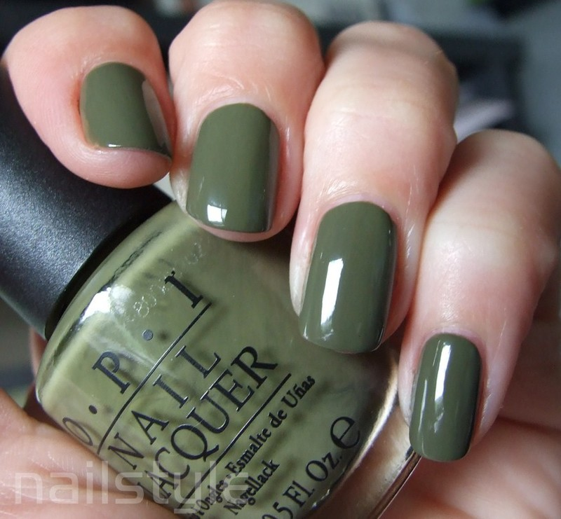 OPI Uh-Oh Roll Down the Window Swatch by nail_style