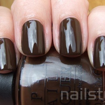OPI Suzi Loves Cowboys Swatch by nail_style