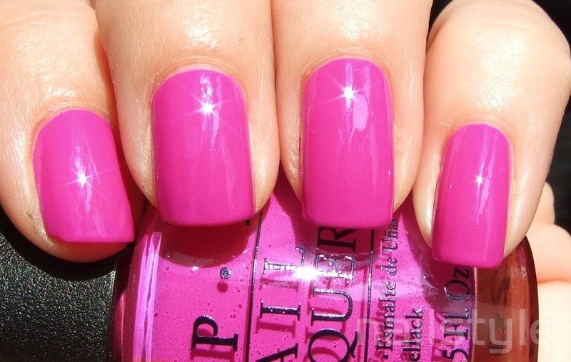 OPI Ate Berries in the Canaries Swatch by nail_style