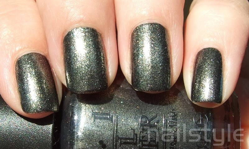 OPI Number One Nemesis Swatch by nail_style
