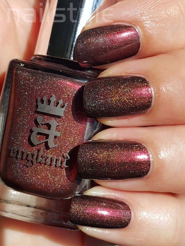 A England Briarwood Swatch by nail_style