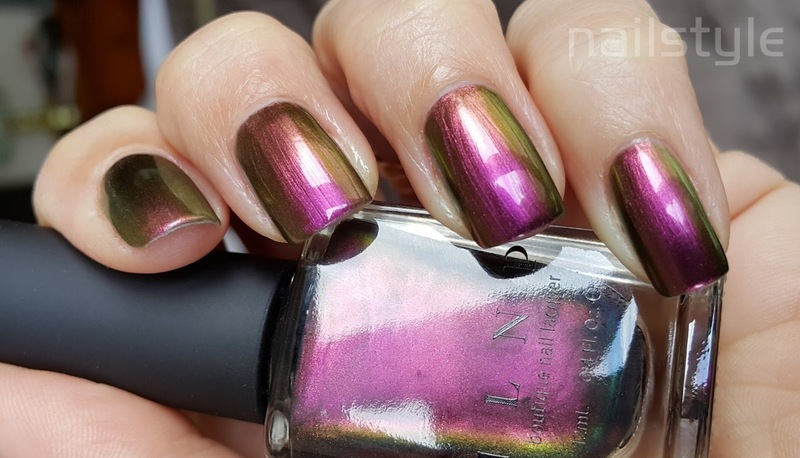 ILNP Masquerade Swatch by nail_style