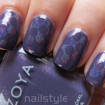 Zoya Neeka stamped nail art by nail_style