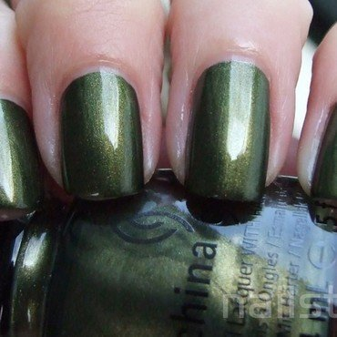 China Glaze Agro Swatch by nail_style