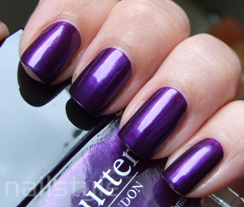 Butter London HRH Swatch by nail_style