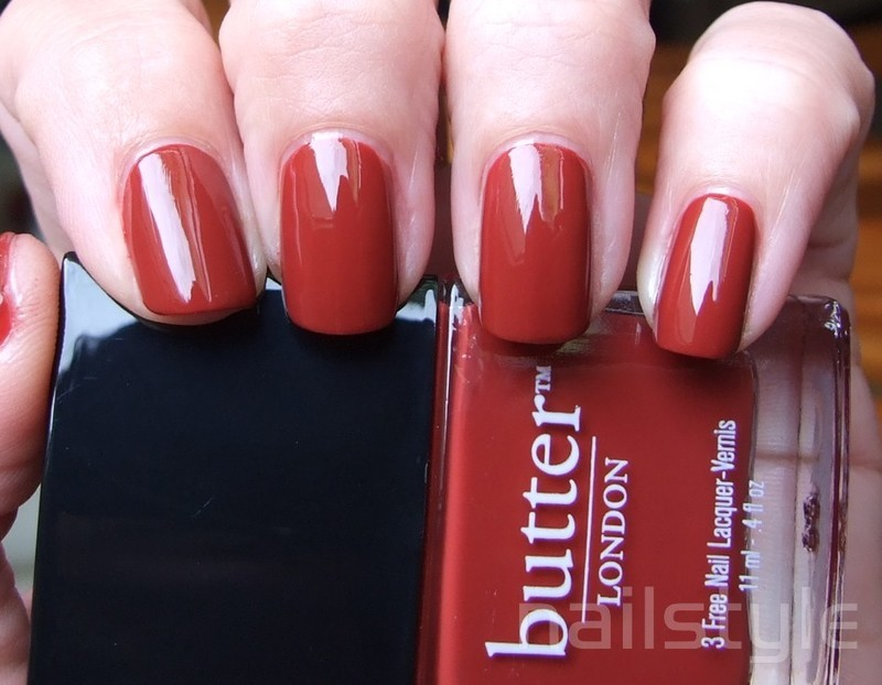Butter London Old Blighty Swatch by nail_style