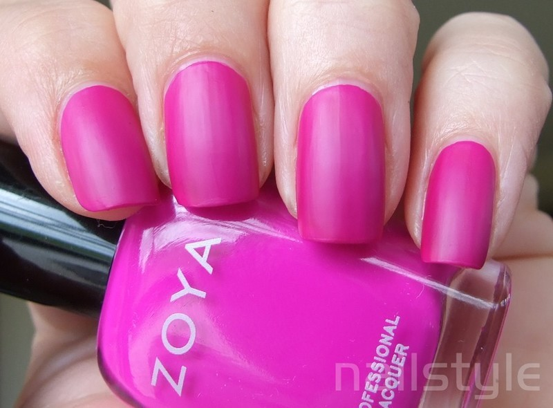 Zoya Charisma Swatch by nail_style