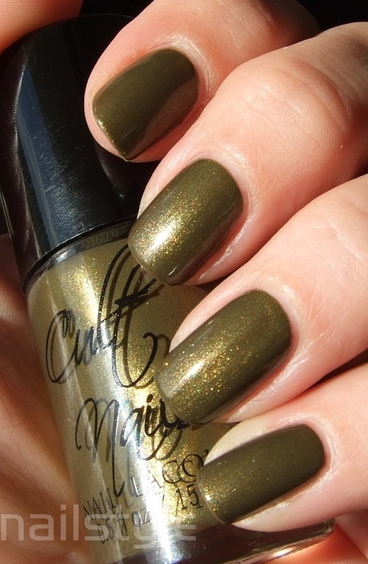 Cult Nails In a Trance Swatch by nail_style