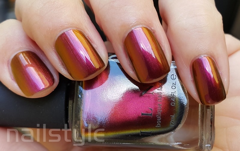 ILNP Greatness Swatch by nail_style
