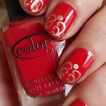 Color Club Look Book with stamping nail art by nail_style