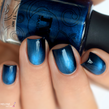 Masura Mountain Azurite Swatch by melyne nailart