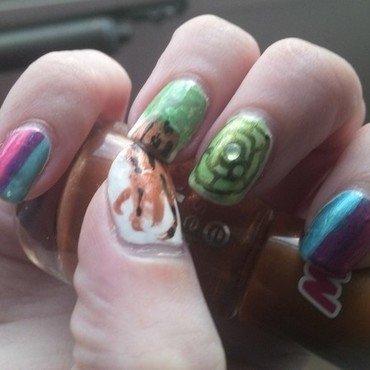 Children of Eden nail art by Kristyna