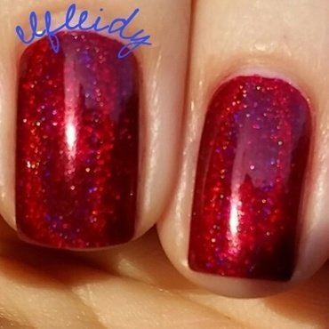 Starrily Miss Scarlet in the Ballroom Swatch by Jenette Maitland-Tomblin