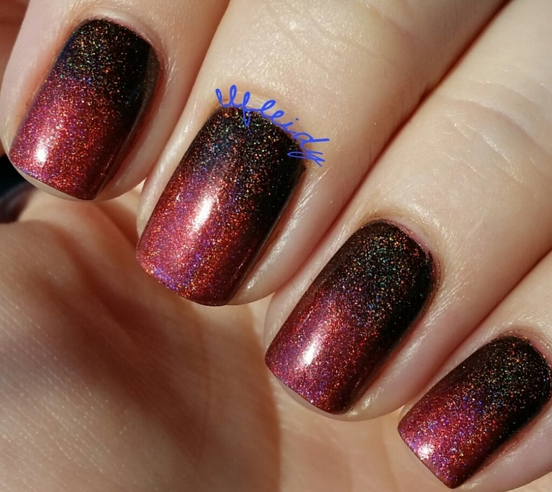 Outlander nail art by Jenette Maitland-Tomblin