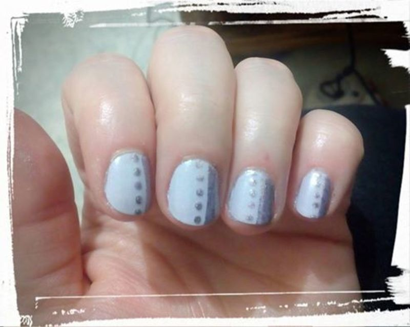Cathy ever after  nail art by Stephanie